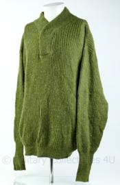 Warme dikke Noorse leger trui. Maat M - Origineel