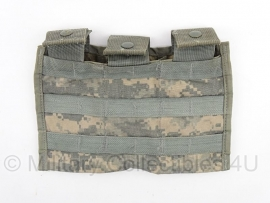 US Army Molle II ACU camo Carrier 3 Mag M14a1 assault magazijntas 3 vakken -  origineel