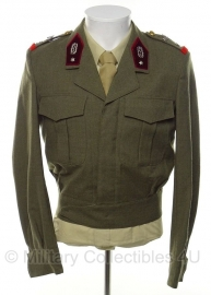 Belgische field service dress 1965 - maat 3 = Small  - origineel
