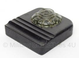 Bakelieten pennenhouder en glazen inktpot houder- origineel