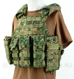 KL Landmacht NFP camo LCVA body plate carrier MET tassen! - nieuw model - zeer compleet - maat uni - zeldzaam! - origineel