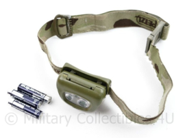 Defensie PETZL hoofdlamp multicam - werkend - origineel