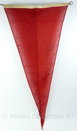 Wo2 British Royal Navy signaal vlag  - gebruikt - 150x70x0,1 cm - origineel