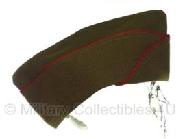 Overseas cap Garrison cap Artillery - RODE  bies - meerdere maten - luxe model