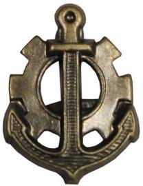 Metalen uniform speld - Marine - Navy - per PAAR - origineel
