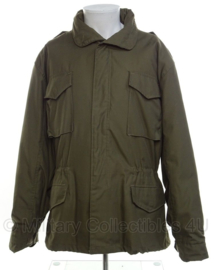 US Army Field Coat, Cold Weather met voering - groen - maat Large/Regular - nieuw gemaakt