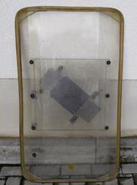 Riot Shield schild voor ME, DSI  en politie Groot - 96 x 55 cm. - origineel