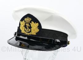 Koninklijke Marine hoofdofficier platte pet - maat 58 - NIEUW - origineel