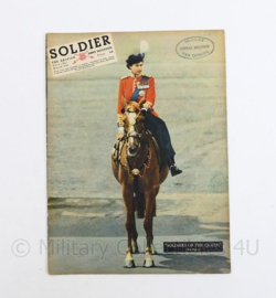 The British Army Magazine Soldier Vol.8 No 1 March 1952 -  Afkomstig uit de Nederlandse MVO bibliotheek - 30 x 22 cm - origineel