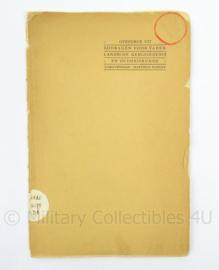 Naslagwerk Bijdragen voor Vaderlandsche geschiedeniskunde en oudheden - jaren 30 - afmeting 25 x 16,5 cm - origineel