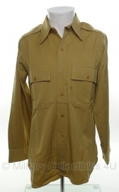 US officer khaki shirt - size XS - True Fit US Army officers Regulation shirt - origineel WO2 US