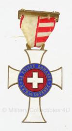 Zwitserse medaille - La Suisse Romande A N.D De Lourdes - origineel