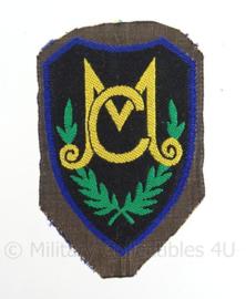 KL eenheid DT embleem KMC Korps Mobiele Colonnes  - 1963/2000 - origineel