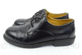 KL Nederlandse leger DT veiligheidsschoenen - merk Emma - zwart leer, rubberen zool - gedragen - maat 44 - origineel