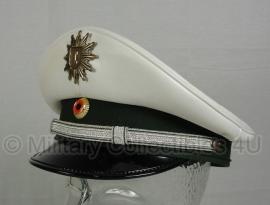 Duitse polizei pet met embleem  - wit - maat 53 tm. 55 - origineel