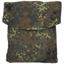 Bundeswehr  flecktarn tas voor 1 tentzeil (en capuchon) -  origineel
