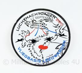 KLU Koninklijke Luchtmacht Luchtmachtdagen 2011 Vliegbasis Leeuwarden sticker - diameter 10 cm - origineel