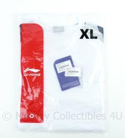 KL Defensie Li-Ling sport shirt SS Men met korte mouw men wit - maat Large - NIEUW in verpakking - origineel
