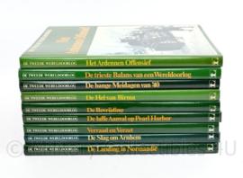 Serie naslagwerken De Tweede Wereldoorlog - 8 boeken