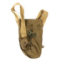 Russische gasmasker tas draagtas met riem - zonder inhoud - origineel