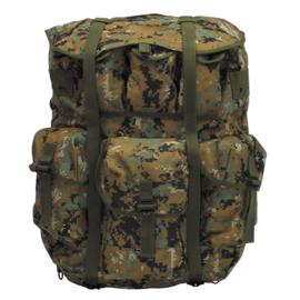USMC US Marine Corps  rugzak Alice Field Pack LC-1 LARGE Alice Pack  MARPAT camo - met frame - nieuw - 62 liter inhoud!