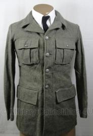 Zweedse uniform jas - net naoorlogs gedateerd- origineel