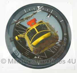 KLU Luchtmacht SAR Search and Rescue sticker - nieuw - origineel