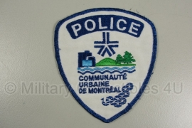 Police Montreal patch - origineel
