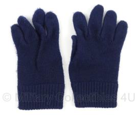 KM Marine wollen handschoenen - blauw - gebruikt - maat 12 - Origineel