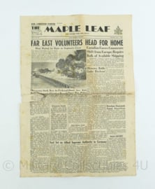 Krant Maple Leaf - 7 June 1945 -  origineel