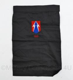 Nederlands leger halsdoek onbekend - mogelijk 102 OTCMAN - zwart -  origineel