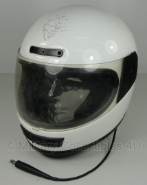 Britse politie motorhelm - merk Everoc classic - nr. 11