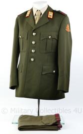 KL Garde Grenadiers DT uniform luchtmobiele brigade met broek - model tot 2000 - maat 50  - rang Soldaat der eerste klasse - origineel