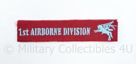 Britse 1st Airborne Division patch - 11,5 x 2,5 cm