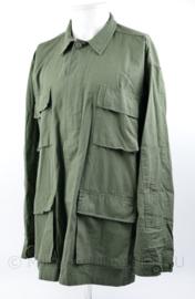 Nieuw gemaakte US BDU jas groen merk Teesar - maat Large- Regular - nieuw gemaakt