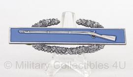 Combat Infantryman Badge CIB badge zilver met krans - 1 st award - origineel US Army