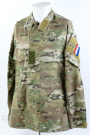 Nederlandse Defensie G3 Field shirt Crye Precision Multicam met armvlag en Air Assault badge - medium- regular - origineel