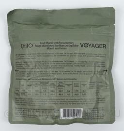 Voyager Orifo ontbijt rantsoen Fruit Muesli With Strawberries - 150 / 260 gram.- t.h.t. april 2023
