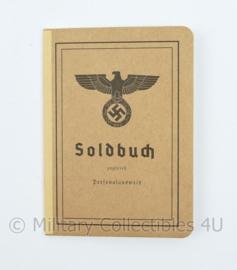 Wo2 Duits Heer replica Soldbuch