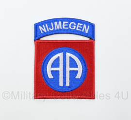 WO2 US Army 82nd Airborne Division Nijmegen patch - 8 x 6 cm