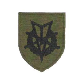 KL Koninklijke Landmacht GVT MLV embleem - 6,5 x 5,5 cm - origineel