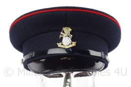 Britse leger Yorkshire regiment visor cap met insigne - maat 56 -  origineel