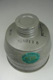 Gasmasker filter Zweeds M1936 gedateerd 1939  - ongebruikt  origineel WO2
