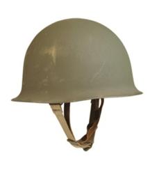 Franse M51 M1 model helm Vroeg model met vroege liner! - origineel