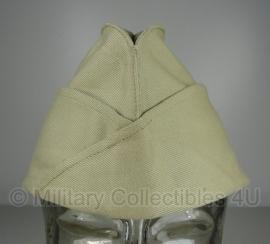 Origineel leger schuitje khaki - WO2 US Army model - maat 57 - origineel