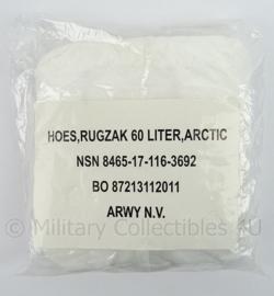 Korps Mariniers rugzakovertrek 60 liter arctic - nieuw in verpakking - voor 60 liter rugzak - origineel
