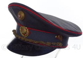 Oostenrijkse Gendarmerie pet met eenheid insigne - grijs - maat 60 - Origineel