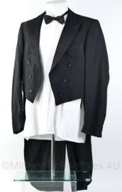 Heren kostuum jacquet jas en overhemd - maat 53 - origineel