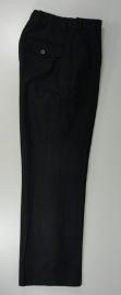 Broek lang zwart - Britse politie- waist 71 cm. origineel