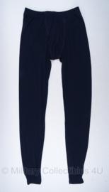 KMAR Marechaussee lange onderbroek unisex donkerblauw - maat L - nieuw in verpakking - donker blauw - origineel